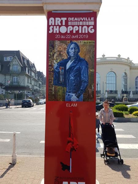 Support art shopping dauville palais des congres